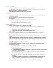 Ch. 12 The Strategy of International Business Notes