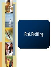 lect 5 risk profiling