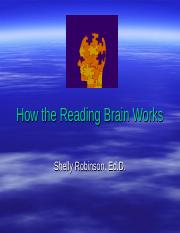 reading brain BRIEF version