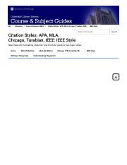 IEEE Style - Citation Styles_ APA, MLA, Chicago, Turabian, IEEE - LibGuides at University of Pittsbu