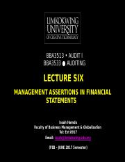 2017-02_bba3533_notes_1489552098_lecture__six_6_management_assertions_in_financial_statements_