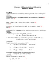Sample Midterm 2 Solutions