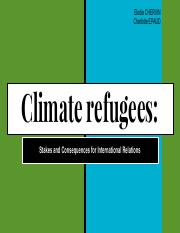 Green Theories Climate Refugees - CHERVIN/EPAUD.pdf