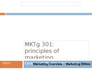 01. Marketing Overview. Marketing Ethics (post) (1)