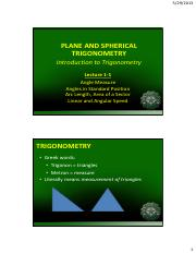 Engtrig Lecture 1_1 - Introduction to Trigonometry