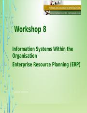 Workshop 08- IS within ERP(1)