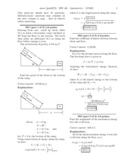 Physics hw 6 solutions