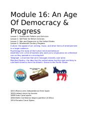 Module 16_ An Age Of Democracy & Progress.docx