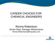 Career Choices for Chemical Engineers 10.10