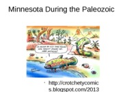 Minnesota During the Paleozoic Lecture