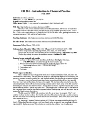 CH204Syllabus-Fall2009