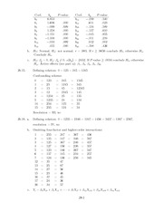 HW Solutions Stat 105