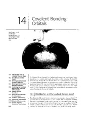 Chapter 14 - Covalent Bonding Orbitals