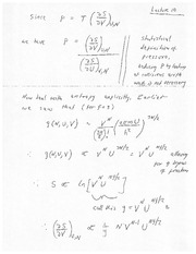 PHYS 458 Pressure Notes