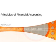 Chapter 1 - Financial Accounting