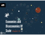 Chapter 19 - Economies and diseconomies of scale