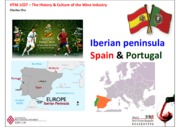 Lecture 4.1 - Spain & Portugal