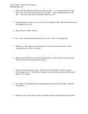 Zinn Ch 5 guided questions