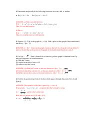 LINEAR FUNCTIONS (SOLUTIONS).docx