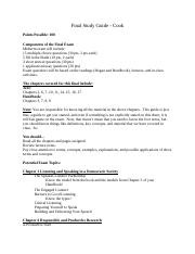 Final Study Guide - Cook(3)