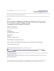 Beyond the Suffering of Being-  Desire in Giacomo Leopardi and Samuel Beckett.pdf