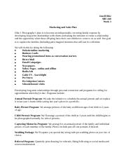 Week 3 Marketing and Sales Plan.docx