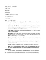 Play Review Worksheet 9