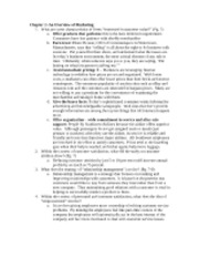 BUAD 307 - Study Guide Questions