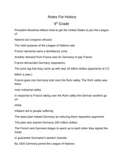 9th grade history Chapter 11 Section 2 Worksheet - O V Curriculum ...