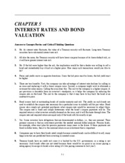 Ch 5 Interest Rates and Bond Valuation_1