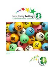 Group 4 Case Analysis - Grafica Inc. Winning the New  Jersey State Lottery