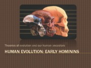 10.Early hominins