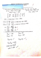 Matrices worksheet 2
