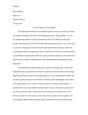 Industrial Rev Paper Final