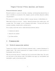 Lecture 9 - Chapter 9 - Proforma