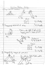 FRICTION PROBLEM SOLVING NOTES
