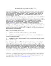 epictetus essay