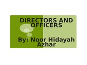 Chp 4-DIRECTORS AND OFFICERS