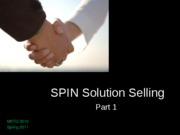 05__SPIN Solution Selling (Part 1)
