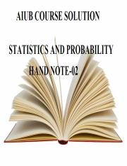Statistics And Probability Hand Note-02.pdf