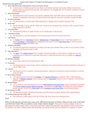 WC2 Study Guide Ch. 53 End of USSR Adler