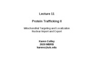 Colley - Lec 11- Protein Trafficking II - 2010