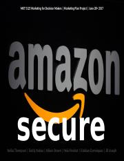 Group 5_Marketing Plan Project_Amazon Secure