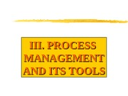 S3 Process Management and Its ToolsNEW