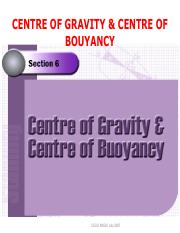 02 Week - 001 - Center of Gravity and Center of Bouyancy - Presentation.pdf