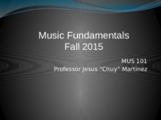 2 Intro at first class of Mus 101 Chuy