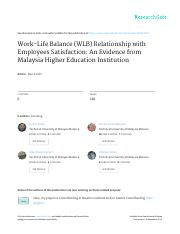 2015 IJSCH Hasan SIW Work-Life_Balance_WLB_Relationship_with_Employees_Satisfaction