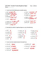 Multiplying and Dividing with Significant Digits Worksheets ...