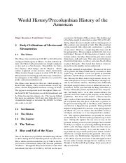 World History%2FPrecolumbian History of the Americas