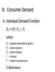 Chapter 2_Consumer Demand